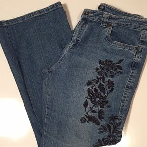 A.N.A. Embellished Leg Jeans
